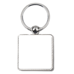 Porte clé carré